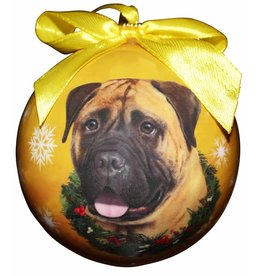 Ball Ornament - Bullmastiff