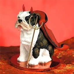 Devil Ornament Bulldog