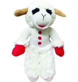 "6"" LAMB CHOP DOG TOY"