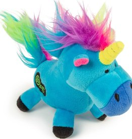 GODOG UNICORNS DURABLE PLUSH DOG TOY