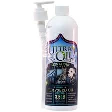 16oz Ultra Oil Skin & Coat Supplement with Hempseed Oil