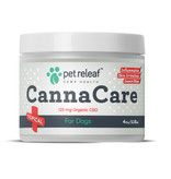 Pet Releaf 4 oz Canna Care Hemp Oil Topical for Dogs