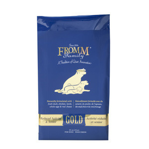 Fromms Gold 15lb Senior Reduced Activity Dog Food