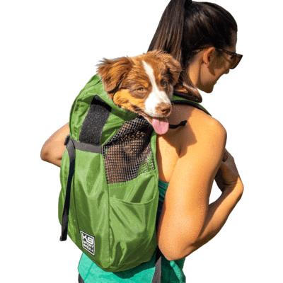 K9 SportSack Trainer, Large, Green