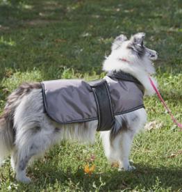Outdoor Dog Arctic Coat - Grey - XXL