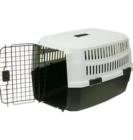 "Pet Carrier,23"" Black/Gray for 10-20lb pets"