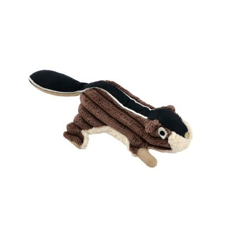 Tall Tails 5 in Chipmunk with Squeaker Brown