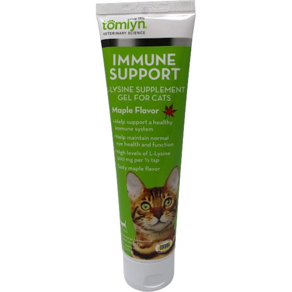 IMMUNE SUPPORT L-LYSINE GEL FOR CATS