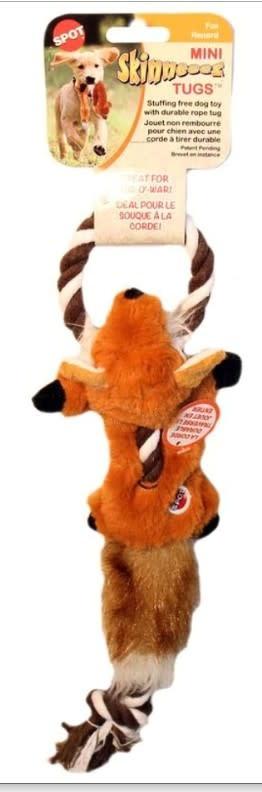 """MINI SKINNEEEZ TUGS FOX, 14"""""""