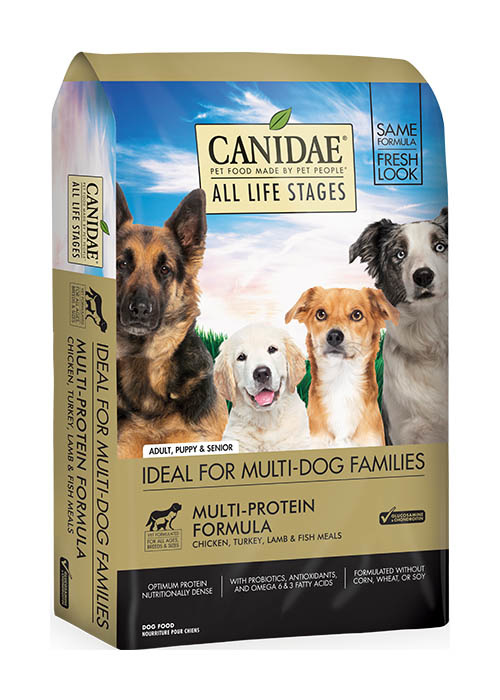 CANIDAE® ALL LIFE STAGES MULTI-PROTEIN FORMULA, 30lb