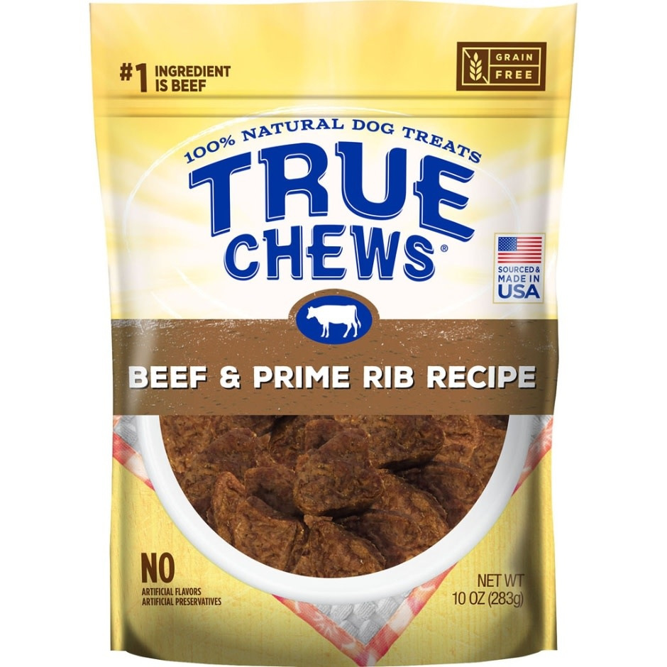 TRUE CHEWS BEEF & PRIME RIB RECIPE, 10oz