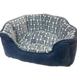 SLEEP ZONE BONES SCALLOP SHAPE BED 24IN