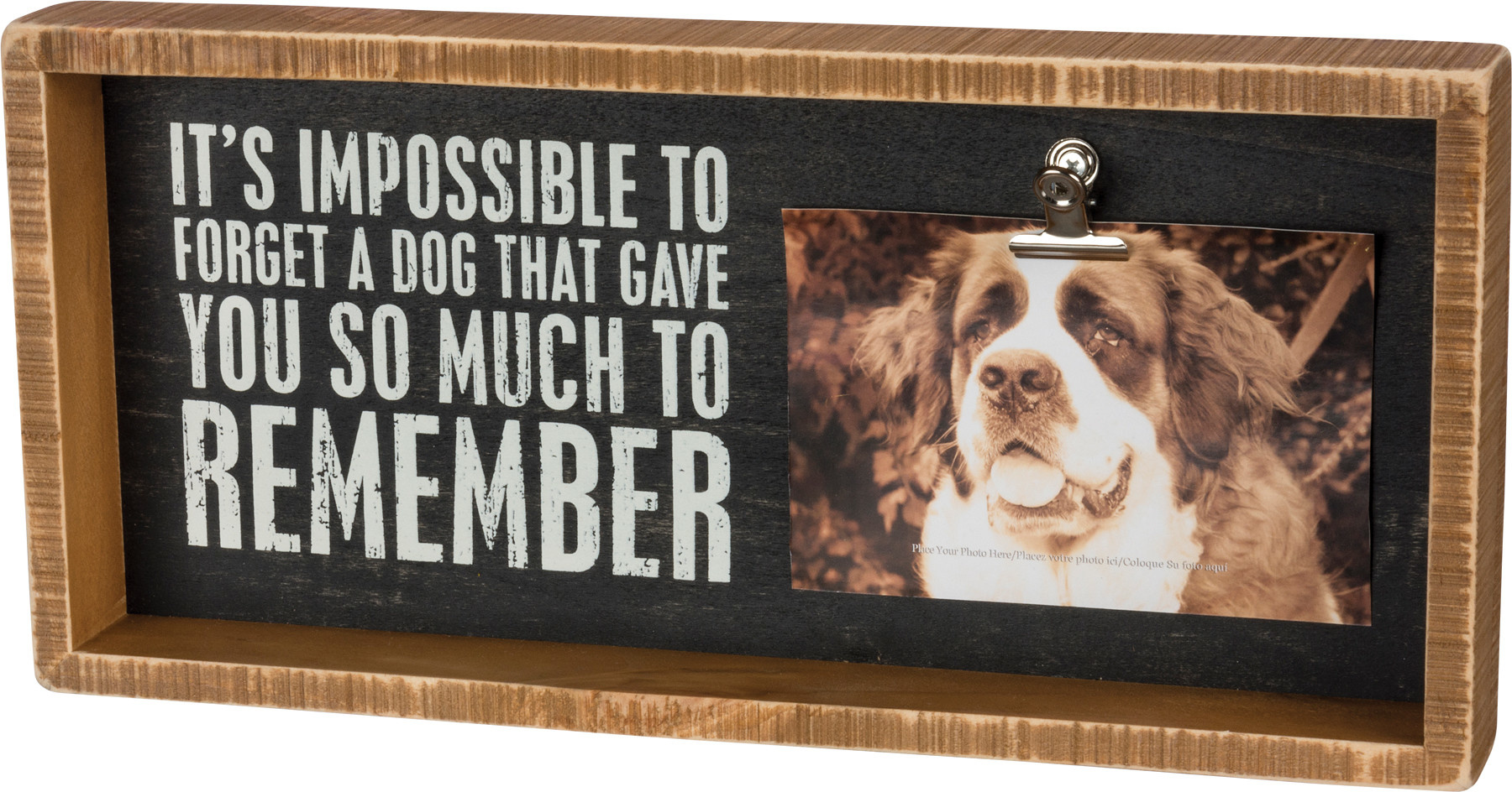 Box Frame (Insert) - DOG THAT GAVE YOU SO MUCH