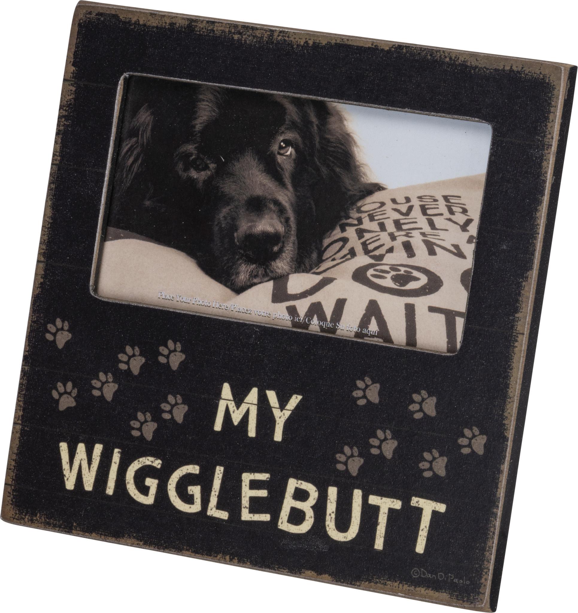 Plaque Frame - My Wigglebutt