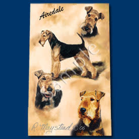 Ball Point Pen Airedale Terrier