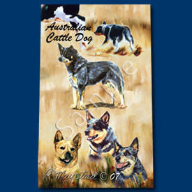 Ball Point Pen Australian Cattle Dog