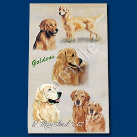 Ball Point Pen Golden Retreiver