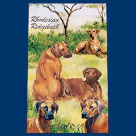 Ball Point Pen Rhodesian Ridgeback