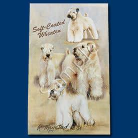 Ball Point Pen Soft Coat Wheaton Terrier