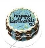 Blue Birthday Cake - Shelf Stable