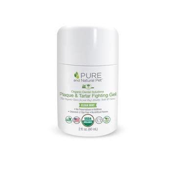 PURE Organic Dental Solutions Plaque & Tartar Fighting Gel (Clean Mint)