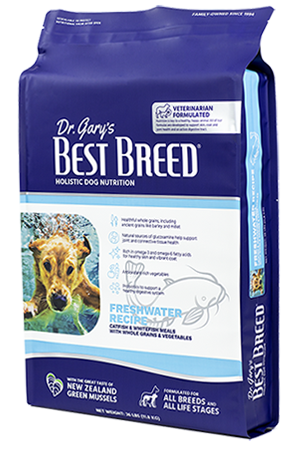 Dr. Gary's Best Breed Dr. Gary's Best Breed FRESHWATER RECIPE Catfish & Whole Grains-4 lbs