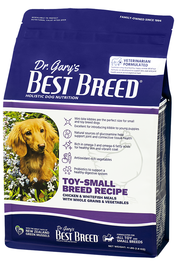 Dr. Gary's Best Breed TOY-SMALL BREED RECIPE-12lbs