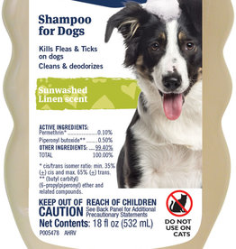 PETARMOR FLEA & TICK SHAMPOO 18OZ. For Dogs