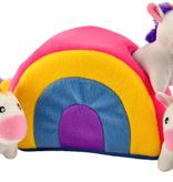 ZIPPY PAWS Zippy Burrow - Unicorns in Rainbow