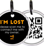 PETSPORT SPOTTED! PRO SMART PET TAG-DOG, Small