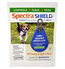 Spectra Shield For Dogs 14-22 LBS..For Dogs 6 Months or Older. Lasts for 4 months