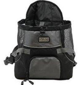 Poochpouch Dog Carrier - Black, Medium