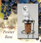 Bottle Topper-Poodle White