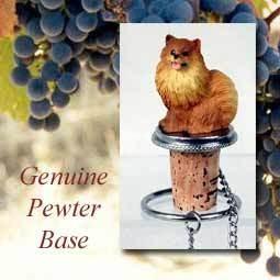 Bottle Topper-Pomeranian