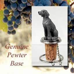 Bottle Topper-Weimaraner