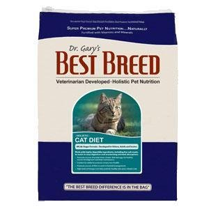 Dr. Gary's Best Breed Cat Diet-4 lbs