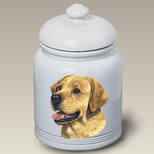 Cookie Jar Labrador Retriever - Yellow
