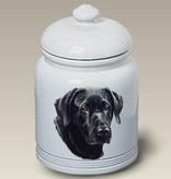 Cookie Jar Labrodor Retriever Black