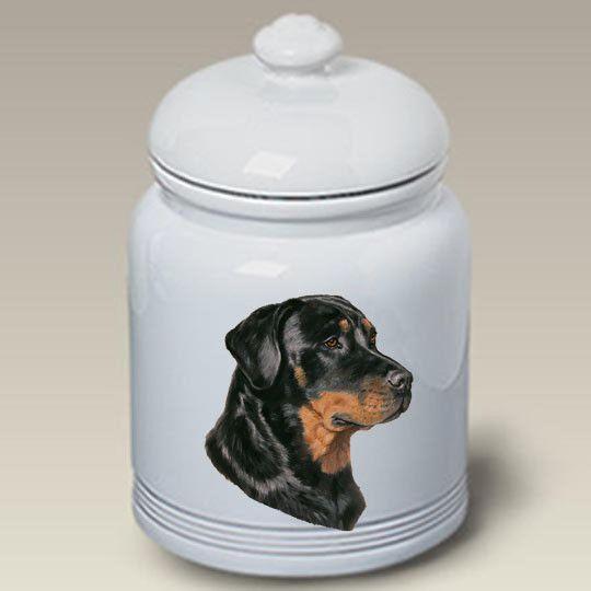 Cookie Jar Rottweiler