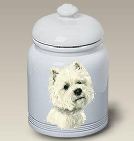 Cookie Jar West Highland White Terrier