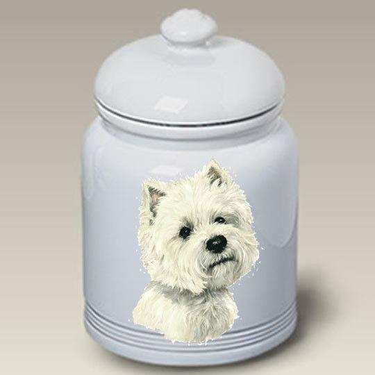 Cookie Jar West Highland White Terrier