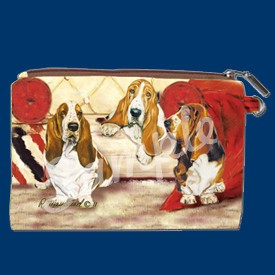 Coin Purse Basset Hound