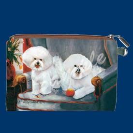 Coin Purse Bichons Fries