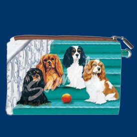 Coin Purse Cavalier King Charles Spani