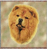 """54"""" Lap Square Chow Chow"""