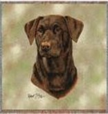 "54"" Lap Square Lab-Chocolate"
