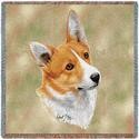 "54"" Lap Square Welsh Corgi Cardigan"