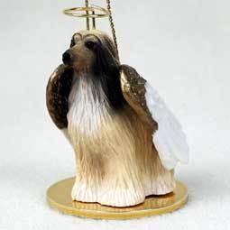 Angel Ornament Afghan Hound