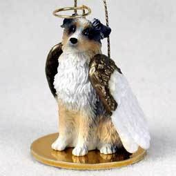 Angel Ornament Austrlian Shepherd