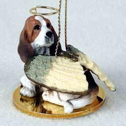 Angel Ornament Basset Hound